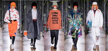 李宁2020秋冬系列发布 致敬品牌30周年系列