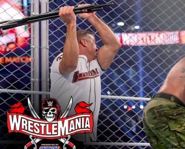 WWE摔跤狂熱大賽37第1日 人間怪獸揍文森