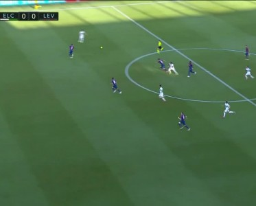 西甲比赛集锦 埃尔切vs莱万特