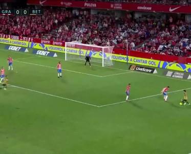 西甲比赛集锦 格拉纳达1-2贝蒂斯