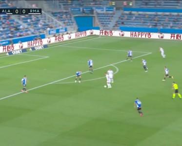 西甲比赛集锦 阿拉维斯1-4皇马