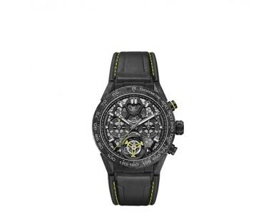 泰格豪雅卡莱拉系列陀飞轮纳米腕表再创制表工艺新高度