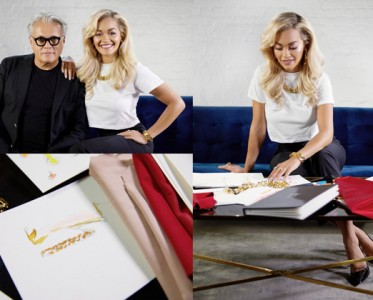Giuseppe Zanotti与Rita Ora联手创作全新鞋履系列