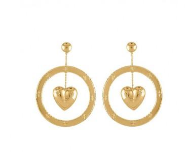 戴不够的金色耳环 过年就靠它们来提气了!