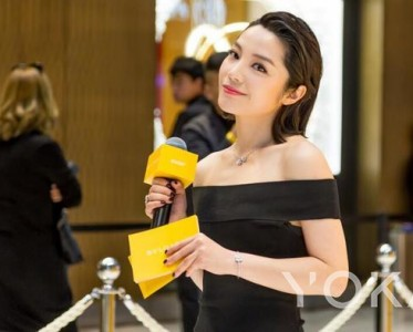 陈胤妃亮相宝格丽时尚活动,国际范十足