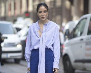"""上班不是只有白衬衫 可以""""美白""""的蓝衬衫更有气质"""