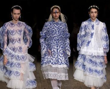 穿Simone Rocha的薄纱蕾丝仙女