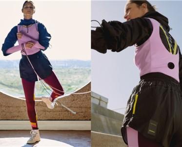 加拿大运动生活方式品牌lululemon携手英国设计师品牌Roksanda推出合作系列