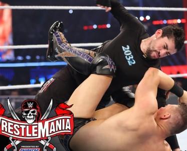 WWE摔跤狂熱大賽37第1日 壞痞兔的空襲