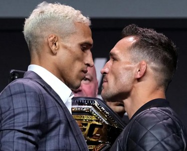 UFC 262發布會拳手對視!平靜卻劍拔弩張