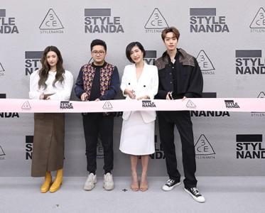 三熹玉上潮了 3CE STYLENANDA全国首店北京开业