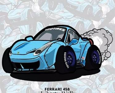 漫画家眼中的二次元汽车 呆萌造型萌化你的心