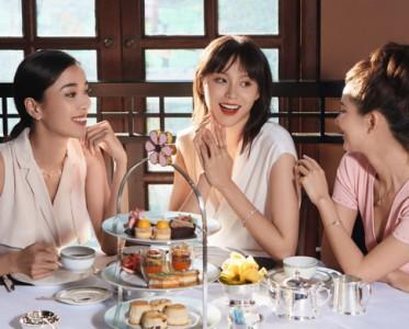 海瑞溫斯頓攜手大中華之半島酒店呈獻初夏主題下午茶