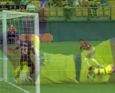 西甲比赛集锦 比利亚雷亚尔0-0格拉纳达
