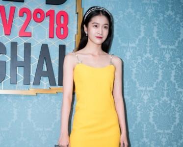 穿上黄色mini裙 你就是人间小公主