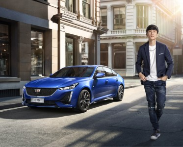 林俊杰代言新美式格调轿车凯迪拉克CT5