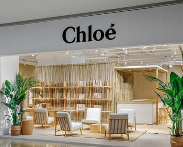 Chloé夏日快闪店于上海静安嘉里中心盛大开幕