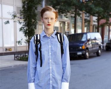 自带学院派基因的牛津衬衫 开学这么穿真的可!