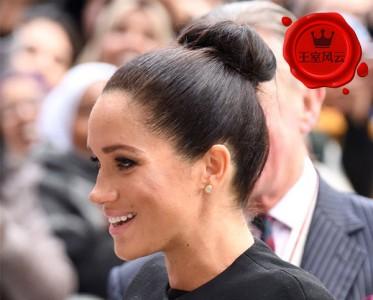 王室风云:被梅根这对不到千元的宝石耳环美到了!