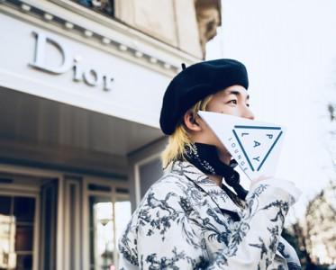 PLAY LOUNGE现身Dior巴黎时装周秀场