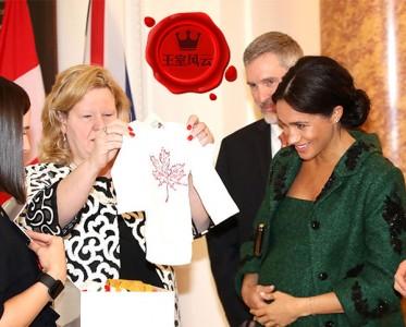 王室风云:赢在起跑线 梅根腹中婴喜获200多件礼物