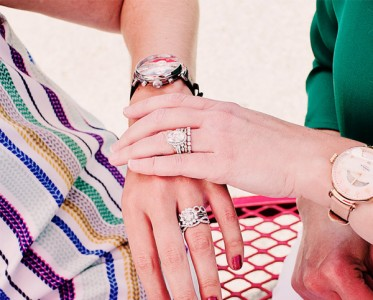 疊戴不是瞎戴 想把戒指玩出花樣還需要一點套路