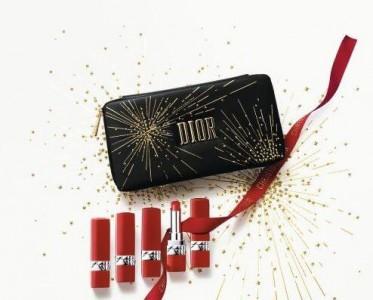 DIOR迪奥彩妆新年限量红管套装  带你新年一路开挂