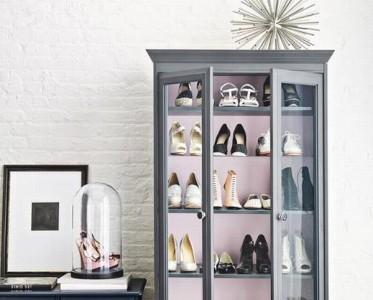 无处安放鞋子有太多 这些创意办法打造超能装的鞋柜