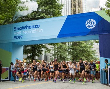 lululemon举办2019SeaWheeze半程马拉松赛及日落欢享派对