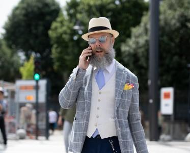 全世界最有范儿的型男全在时装周扎堆儿了!