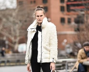 羊羔毛夹克才是冬天保暖利器 还可以超时髦哦!