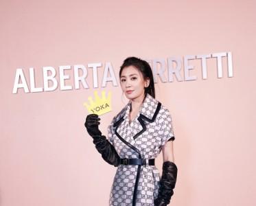 賈靜雯的米蘭時裝周全紀錄:美圖+潮流+美の干貨