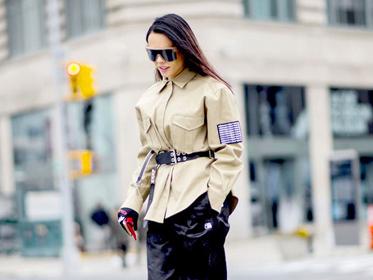 穿上这件工装外套 你就是这条街上最帅的小姐姐!