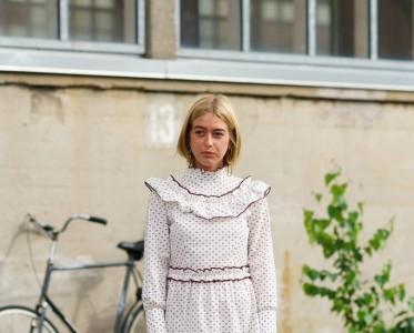 今天最时髦的Prairie Dress了解一下?