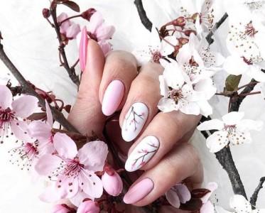 樱花美甲很浪漫?看了13款实物图怕了