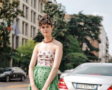 随性范儿十足的围裹半身裙 给你来点神奇的¡°显瘦特效¡±