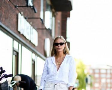 最适合夏天的白色牛仔裤 会穿绝对不显胖£¡