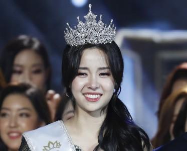 2019韩国小姐出炉,前十又是流水线的高鼻子尖下巴?