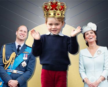 王室风云:从乔胖胖到花美男 未来国王的6年变化史
