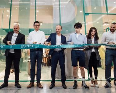 经典出发,及时型乐,ESPRIT全新概念店在北京正式开幕。
