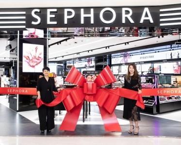 """丝芙兰Sephora港汇店焕新开幕,创造美力""""无限""""新体验"""