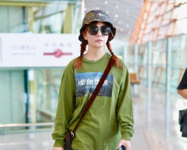 赵薇的加厚版渔夫帽,保暖又时髦!
