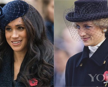 王室风云:梅根的画风,和戴妃越来越像啊!