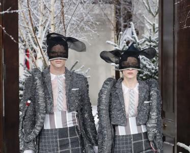 2020秋冬巴黎时装周 Thom Browne 秀