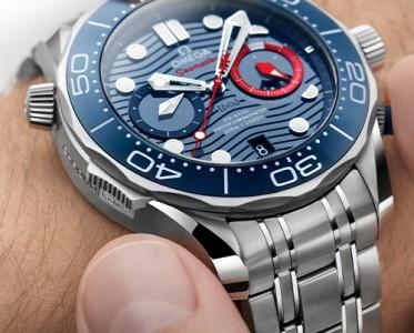 歐米茄推出海馬系列300米潛水計時表美洲杯版
