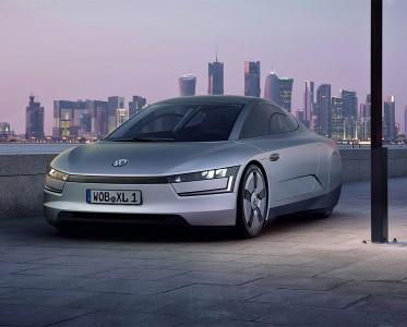超级节能车 大众XL1 Concept百公里油耗0.9L