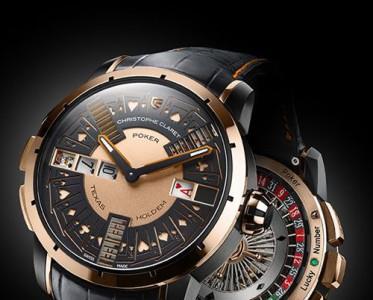 扑克迷的腕表装备 Christophe Claret扑克腕表问世
