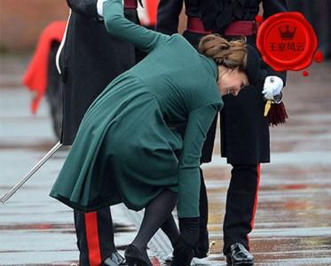 王室风云:尴尬来了挡都挡不住 凯特被风撩梅根忘摘吊牌