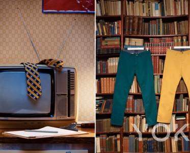 GANT 卡其裤都市精英精神的百变时尚