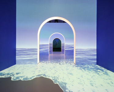 LA MER海蓝之谜探索无界艺术展